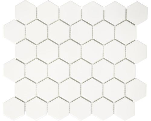 Keramikmosaik HX 085 weiß 32,5x28,1 cm