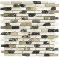 Natursteinmosaik MOS Brick 195 beige 30,5x30,5 cm