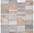 Natursteinmosaik XSK 575 braun/grau 30x30 cm