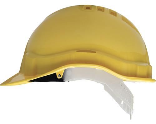 Schutzhelm verstellbar Kunststoff gelb