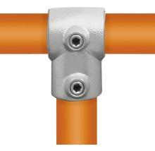 T-Stück Buildify kurz Rohrverbinder für Gerüstrohr aus Stahl Ø 33 mm