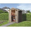 Gartenhaus weka mit Fußboden 152 x 130 cm natur