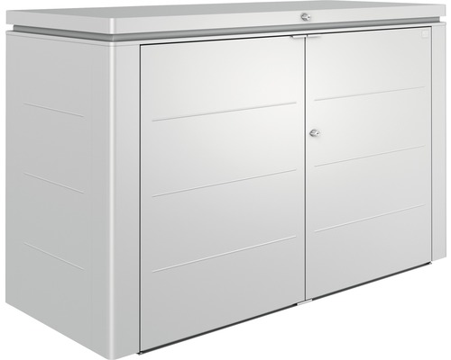 HighBoard biohort Gr. 200, 200 x 84 x 127 cm, silber-metallic