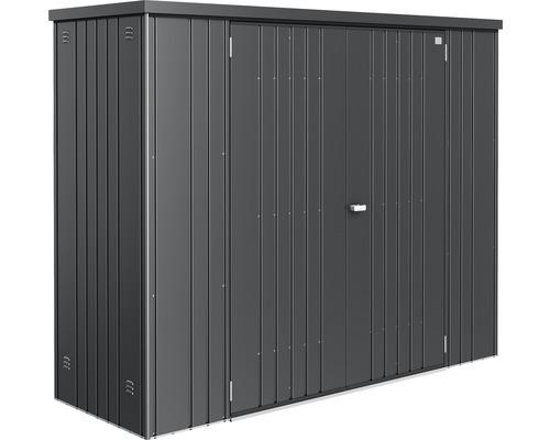 Geräteschrank biohort Gr. 230 227x83 cm dunkelgrau-metallic