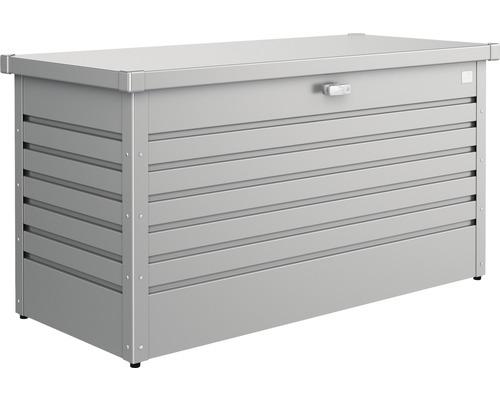 Auflagenbox biohort FreizeitBox 130, 134 x 62 x 71 cm, quarzgrau-metallic