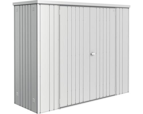 Geräteschrank biohort Gr. 230 227 x 83 cm, silber-metallic