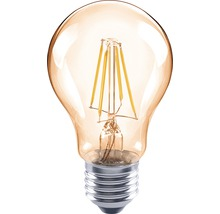FLAIR LED Lampe E27/4W(35W) A60 Filament amber 400 lm 2000 K warmweiß