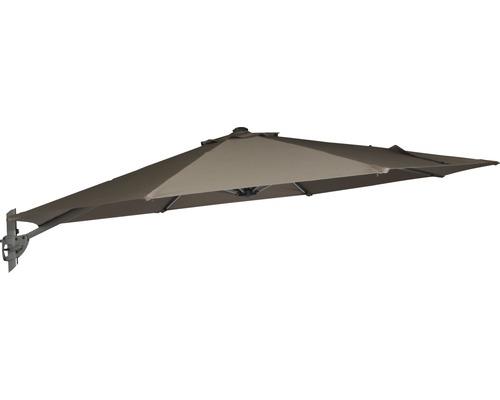 Sonnenschirmbespannung für Montego Ampelschirm Ø 350 cm, mocca
