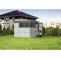 Gartenhaus SKAN HOLZ CrossCube Haus Sydney 3 253 x 253 cm telegrau-schiefergrau