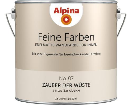 Alpina Wandfarbe Feine Farben Zauber der Wüste 2,5 l