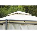 Ersatzdach für Pavillon Modena 3x3x2,7 m Polyester 260 g/m² beige