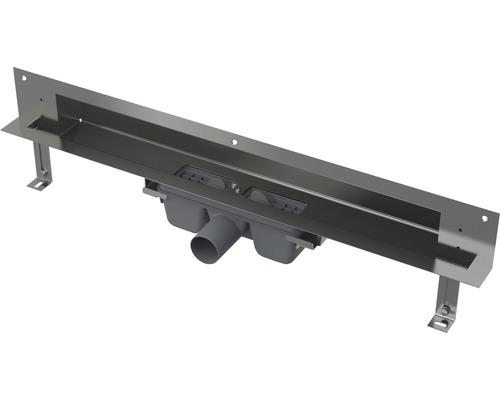 Duschrinne Wandeinbau APZ5-TWIN-850 edelstahl