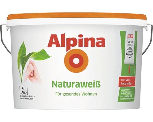 Alpina Natura Weiss Wandfarbe 5 l