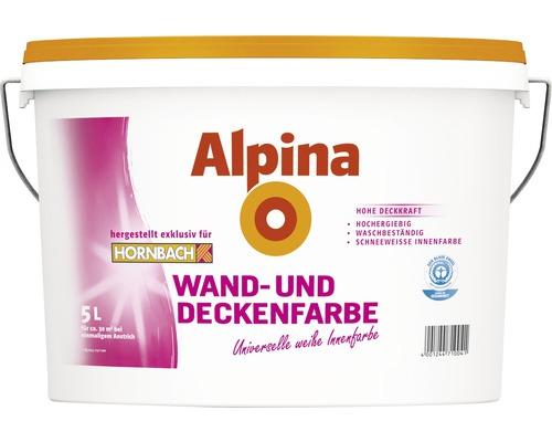 Alpina Wand- und Deckenfarbe 5L