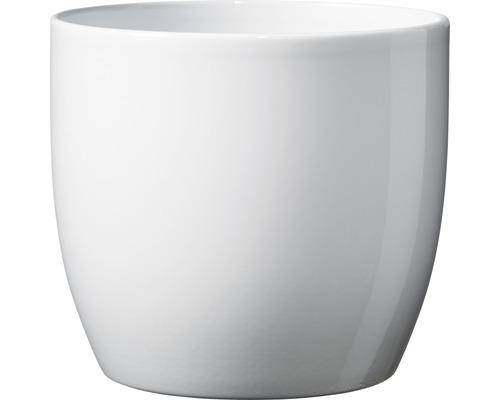 Blumentopf Soendgen Basel Keramik Ø 13 H 12 cm weiß