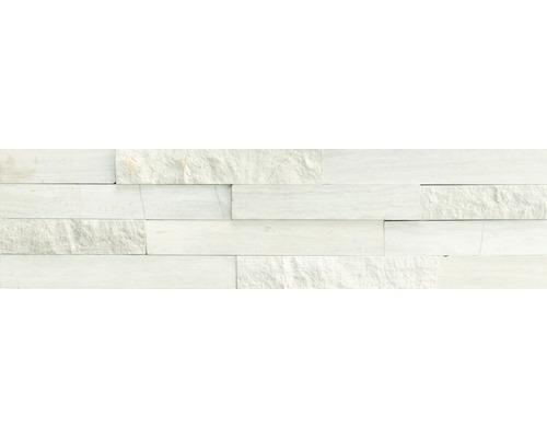 Wandverblender Naturst. Marmor Grey Stripe 40/10