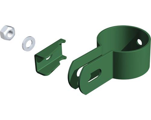 Endschelle verzinkt Ø 34 mm, grün