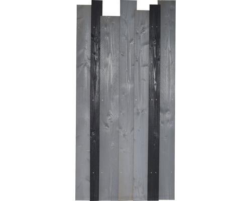 Teilelement Jenga 90 x 180 cm, anthrazit/grau