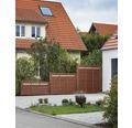 Zaunelement BuildiFix-Zauntyp F 180x180 cm braun