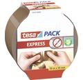 Klebeband tesa Express einreißbar 50 m x 50 mm braun