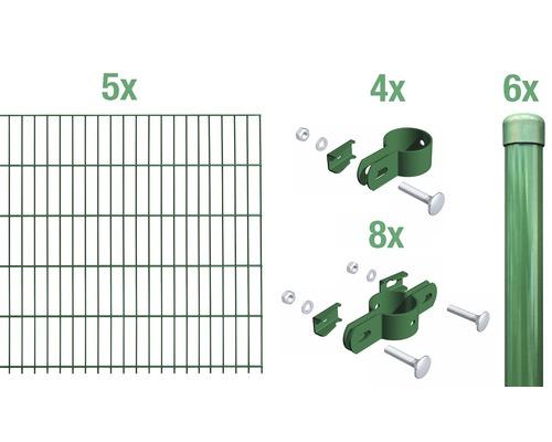 Einstabmatte Grundset 1000x75 cm, grün