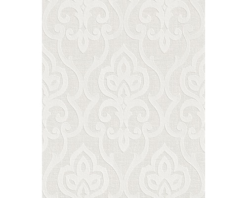Vliestapete 142600 Wallton Ornament weiß