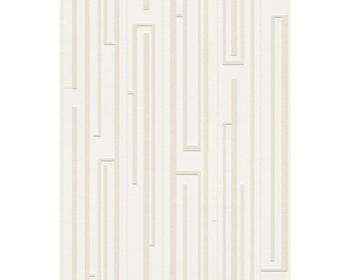 Vliestapete 342000 Wallton Geometrisch weiß