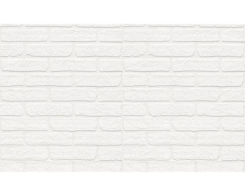 Vliestapete 150117 Wallton Stein-Optik weiß