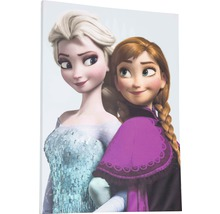 Leinwandbild Frozen Die Eiskönigin Elsa & Anna 50x70 cm