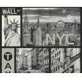 Vliestapete 30045-2 Faro 4 New York schwarz/weiß