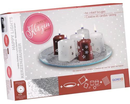 Kreativset Kerzengießen Weihnachten
