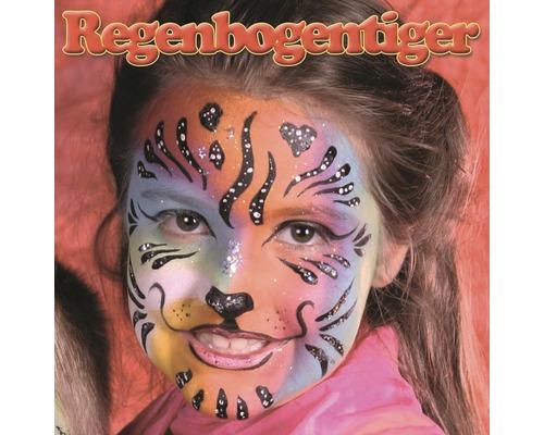Kreativset Aqua Profi Make-up Regenbogentiger