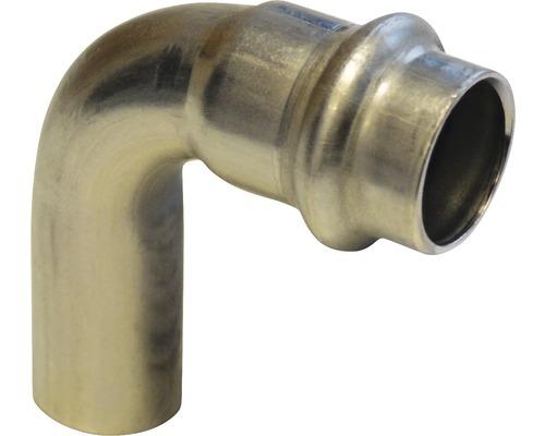 Viega Sanpress Pressfitting mit SC-Contur Bogen 90° IA 18mm inox 435714