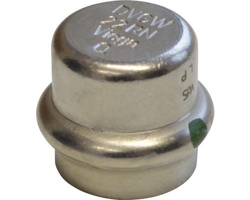 Viega Sanpress Pressfitting mit SC-Contur Kappe 15mm inox 452858