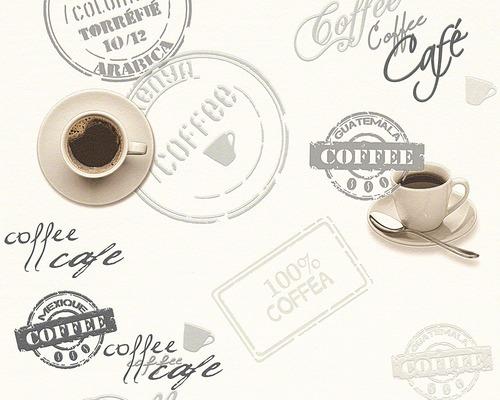 Vliestapete 94308-1 Faro 4 Kaffeetasse weiß