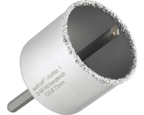 Bohrkranz Wolfcraft Hartmetall Ø 73 mm
