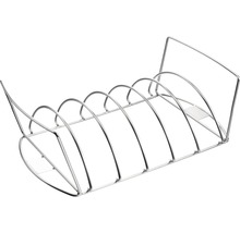 Tenneker® Braten- und Rippchenhalter Edelstahl