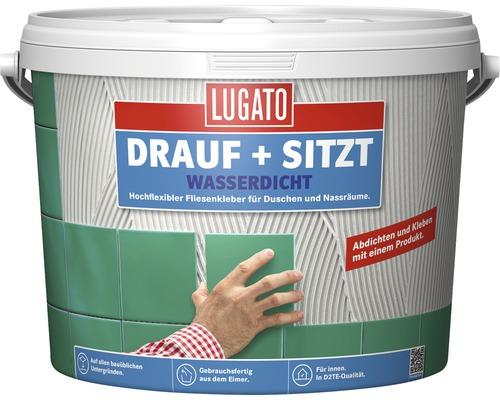 Fliesenkleber Lugato Drauf und Sitzt Wasserdicht 6 kg