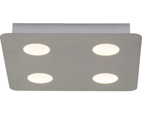 LED Deckenleuchte 4x5W 4x500 lm 3000 K warmweiß 300x300 mm Formit chrom