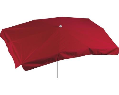 Sonnenschirm rechteckig 130x200cm, rot