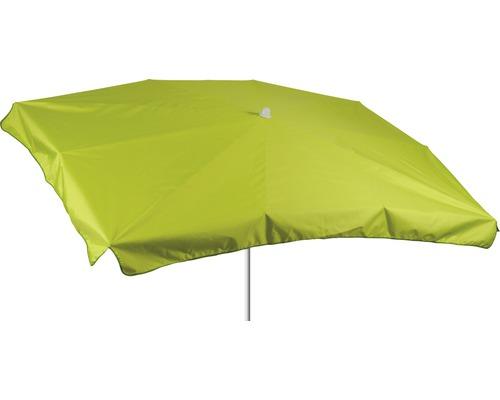 Sonnenschirm rechteckig 130x200cm, hellgrün