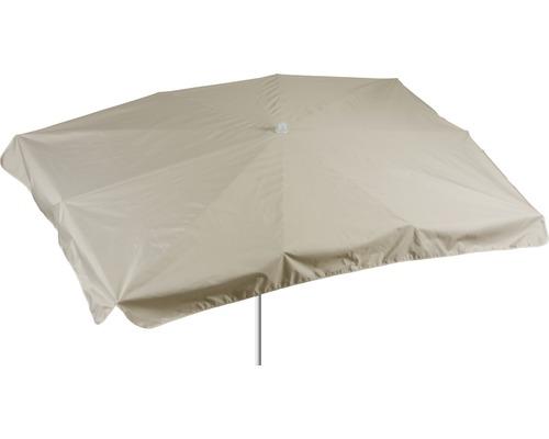 Sonnenschirm rechteckig 130x200cm, beige