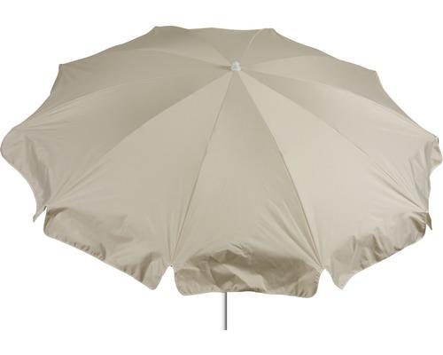 Sonnenschirm rund Ø 200cm, beige