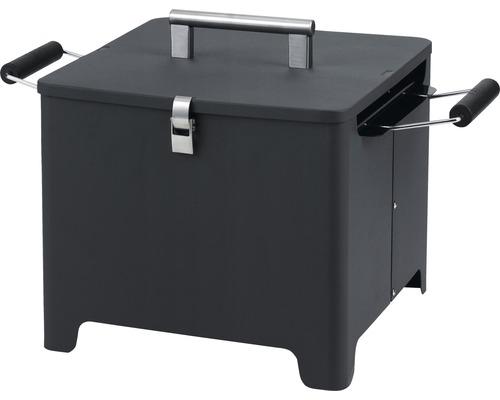 Holzkohlegrill Cube 32x32 cm anthrazit