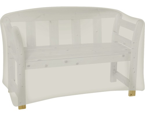 Schutzhülle für Gartenbank 2-Sitzer 80x130x80 cm