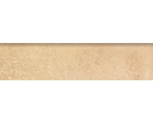 Sockelfliese Rustic crema 8x33,15 cm