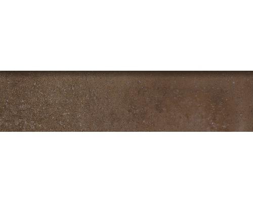 Sockelfliese Rustic moka 8x33,15 cm