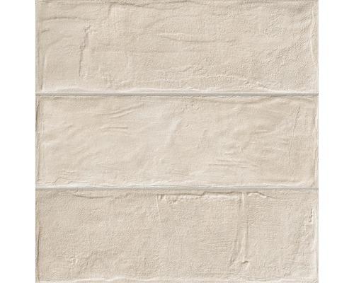 Feinsteinzeug Wandfliese Brick beige 33,15 x 33,15 cm