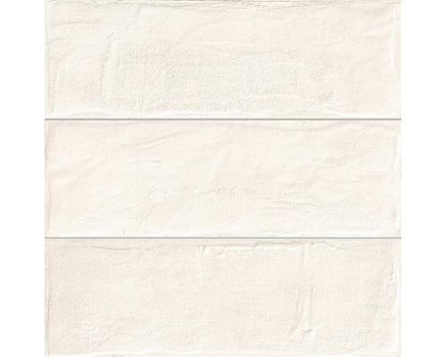 Feinsteinzeug Wandfliese Brick almond 33,15 x 33,15 cm
