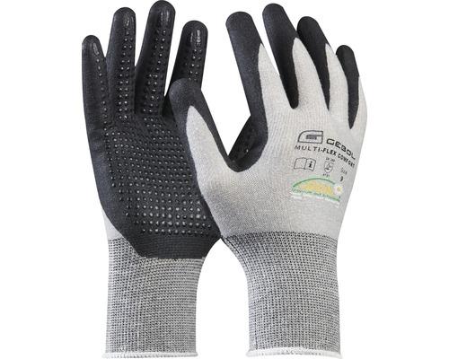 GEBOL Arbeitshandschuhe grau/schwarz Multi-Flex Gr. 10